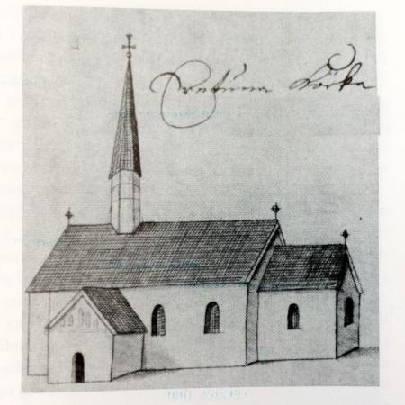 Ärentuna kyrka 1680