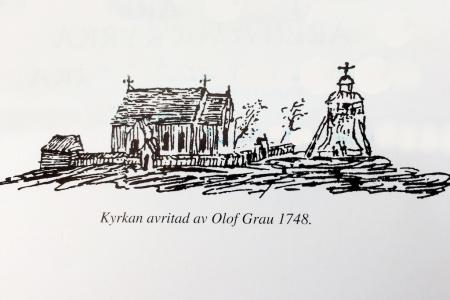 Ärentuna kyrka 1748